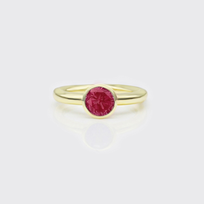 Ring - Rodolith Solitaire