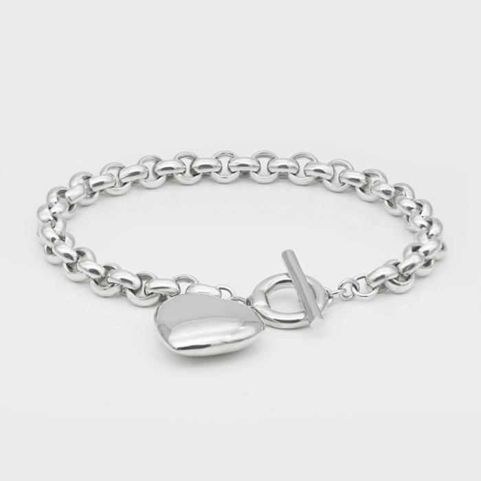 Armband - Silberherz