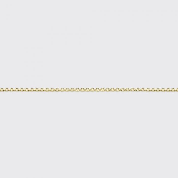 Halskette - Ankerkette Gelbgold schmal
