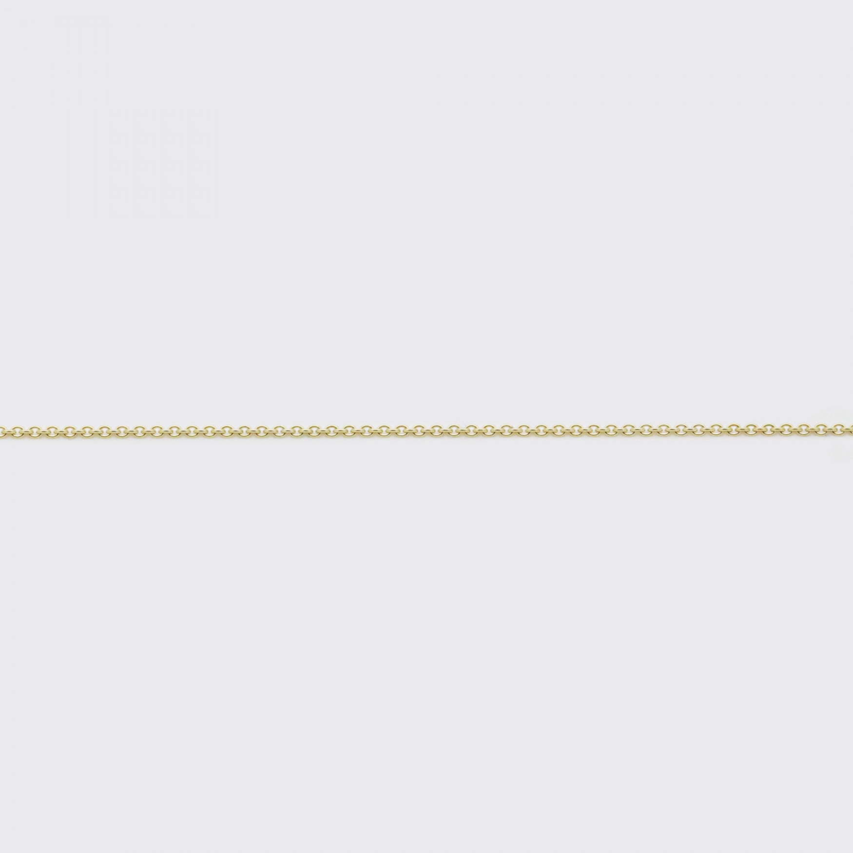 Ankerkette - Gold Gelbgold zart