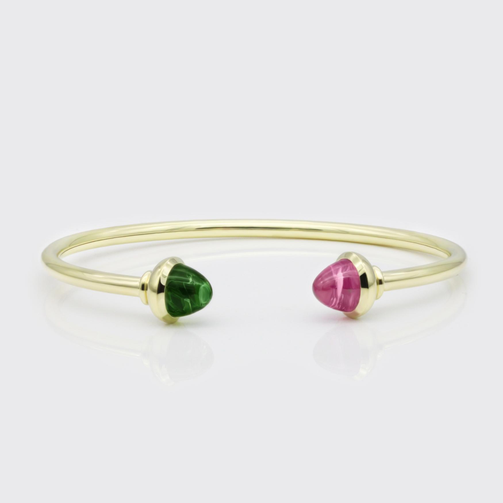 Armband - Weißgold, große Brillanten