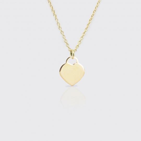 Anhänger - Herz Gold