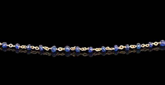 Goldkette - Smaragde