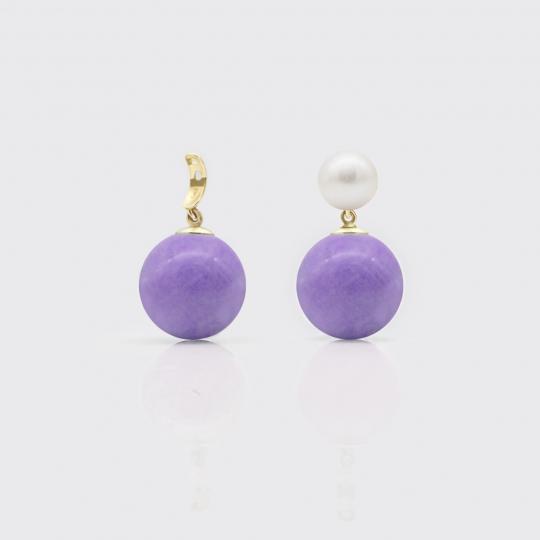 Bommel - Lavendel-Quarz