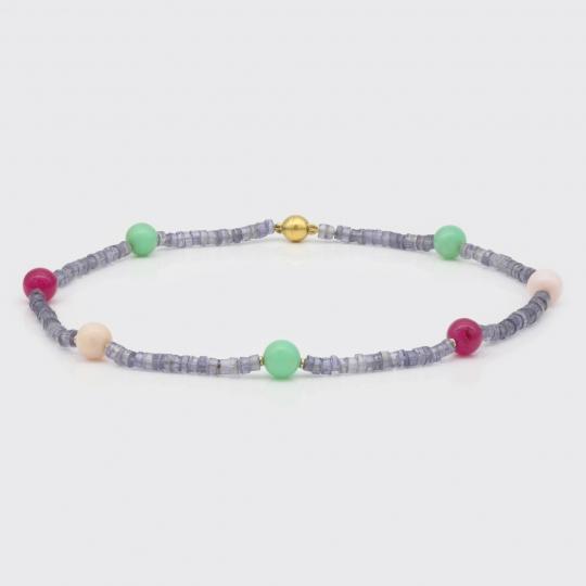 Halskette - Iolith