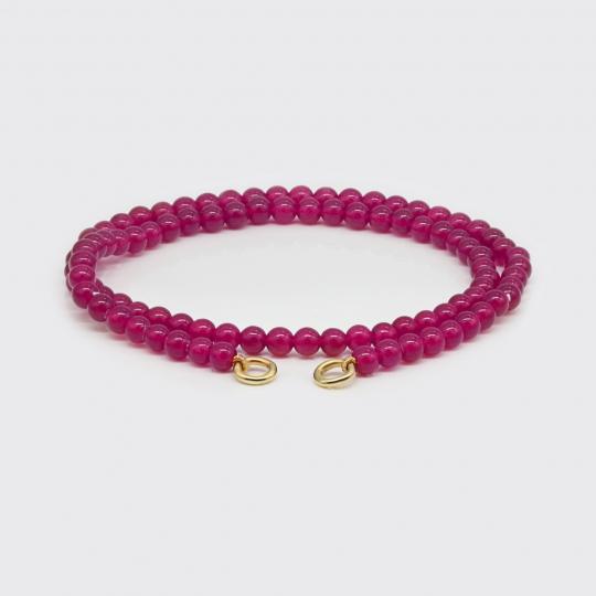 Strang für Varioarmband - pink Jade