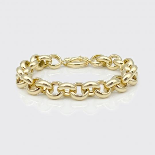 Armband - Rundöse Gelbgold