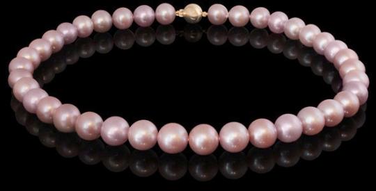 Halskette - Süßwasserperle rosé