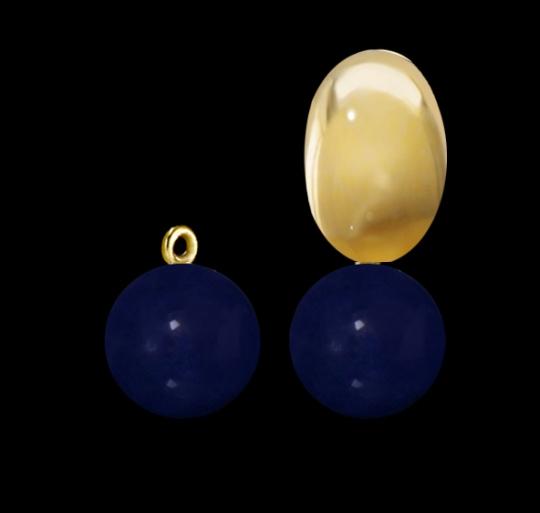 Clip-Einhänger - Blauachat