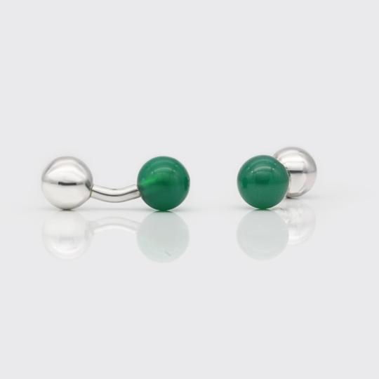 SilverStuds - green